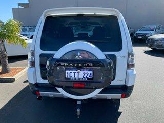 2007 Mitsubishi Pajero NS VR-X White 5 Speed Sports Automatic Wagon.
