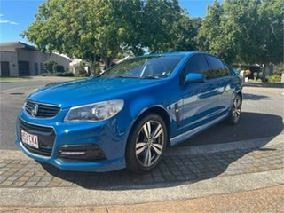 2013 Holden Commodore VF SV6 Blue 6 Speed Automatic Sedan.
