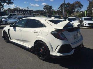 2020 Honda Civic Type R White Manual Hatchback.