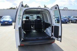 2016 Volkswagen Caddy 2K MY16 TSI220 SWB DSG Trendline White 7 Speed Sports Automatic Dual Clutch.