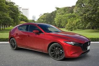 2021 Mazda 3 BP2HLA G25 SKYACTIV-Drive Astina Soul Red 6 Speed Sports Automatic Hatchback.