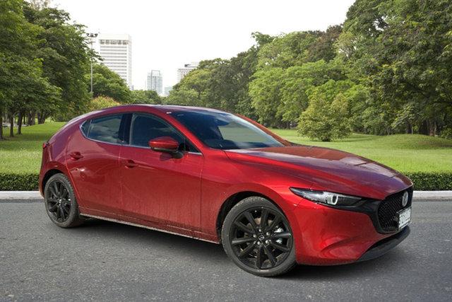 Demo Mazda 3 BP2HLA G25 SKYACTIV-Drive Astina Paradise, 2021 Mazda 3 BP2HLA G25 SKYACTIV-Drive Astina Soul Red 6 Speed Sports Automatic Hatchback