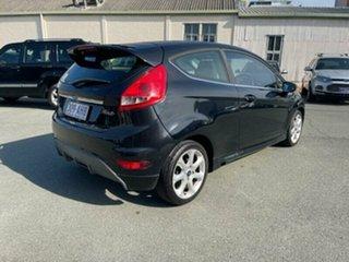 2008 Ford Fiesta WQ Zetec Black 5 Speed Manual Hatchback