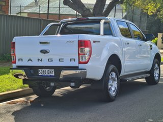 2018 Ford Ranger PX MkII 2018.00MY XLT Double Cab 4x2 Hi-Rider White 6 Speed Manual Utility.