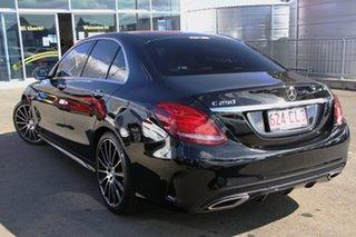 2016 Mercedes-Benz C-Class W205 807MY C250 7G-Tronic + Black 7 Speed Sports Automatic Sedan.