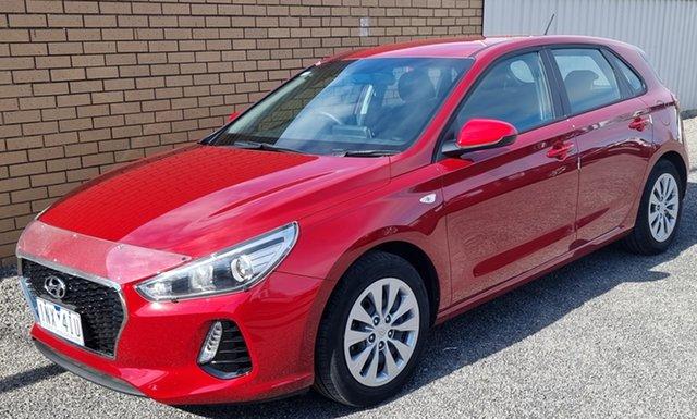 Used Hyundai i30 PD MY18 Go Horsham, 2018 Hyundai i30 PD MY18 Go Red 6 Speed Sports Automatic Hatchback
