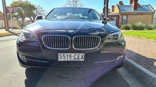 2011 BMW 520d F10 MY12 Santorini Black 8 Speed Automatic Sedan