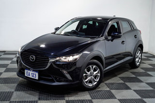 2018 Mazda CX-3 DK4W7A Maxx SKYACTIV-Drive i-ACTIV AWD Black 6 Speed Sports Automatic Wagon.