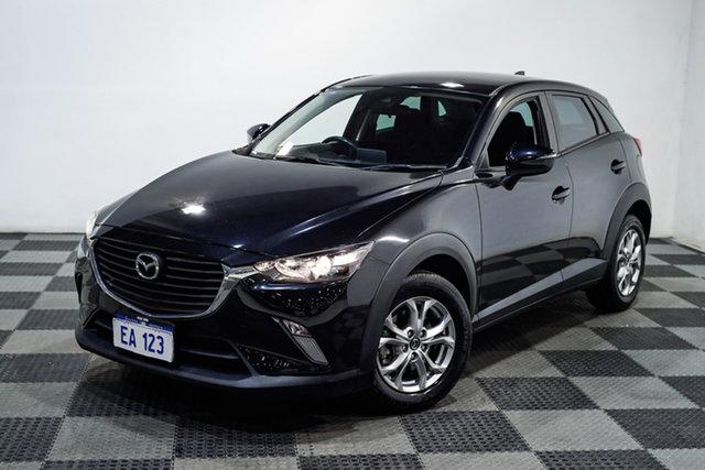 Used Mazda CX-3 DK4W7A Maxx SKYACTIV-Drive i-ACTIV AWD Edgewater, 2018 Mazda CX-3 DK4W7A Maxx SKYACTIV-Drive i-ACTIV AWD Black 6 Speed Sports Automatic Wagon