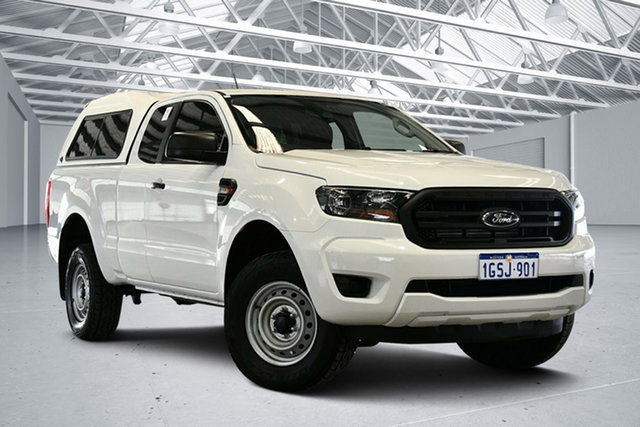 Used Ford Ranger PX MkIII 2019.00MY XL Hi-Rider Perth Airport, 2019 Ford Ranger PX MkIII 2019.00MY XL Hi-Rider White 6 Speed Sports Automatic Super Cab Chassis