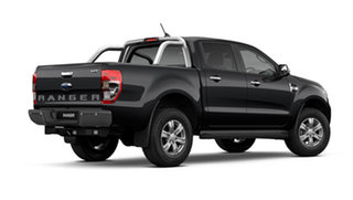 2021 Ford Ranger PX MkIII 2021.75MY XLT Shadow Black 10 Speed Sports Automatic Double Cab Pick Up
