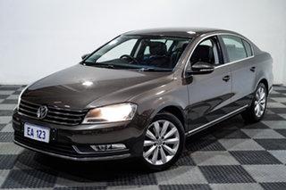 2013 Volkswagen Passat Type 3C MY13.5 118TSI DSG Brown 7 Speed Sports Automatic Dual Clutch Sedan.