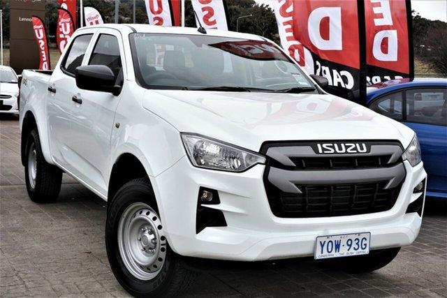 Used Isuzu D-MAX RG MY21 SX Crew Cab Phillip, 2020 Isuzu D-MAX RG MY21 SX Crew Cab White 6 Speed Sports Automatic Utility
