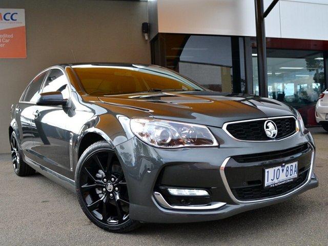 Used Holden Commodore VF II MY17 SV6 Fawkner, 2017 Holden Commodore VF II MY17 SV6 Grey 6 Speed Sports Automatic Sedan