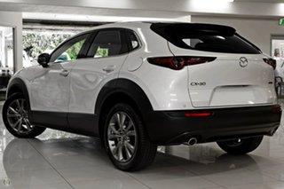 2021 Mazda CX-30 DM4WLA G25 SKYACTIV-Drive i-ACTIV AWD Touring White 6 Speed Sports Automatic Wagon