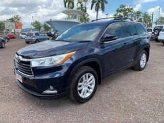 2014 Toyota Kluger KXS Blue 4 Speed Auto Active Select Wagon.
