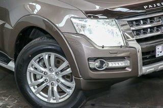 2014 Mitsubishi Pajero NX MY15 GLS Bronze 5 Speed Sports Automatic Wagon.