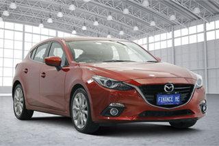 2014 Mazda 3 BM5436 SP25 SKYACTIV-MT GT Red 6 Speed Manual Hatchback.