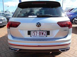 2021 Volkswagen Tiguan 5N MY21 162TSI R-Line DSG 4MOTION Pyrite Silver 7 Speed