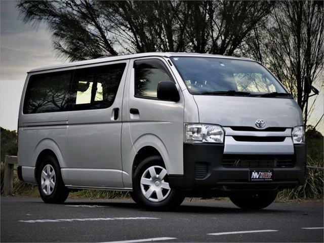 Used Toyota HiAce DX Braeside, 2015 Toyota HiAce KDH206V DX Silver 4 Speed Automatic Van