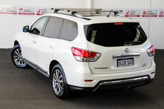2017 Nissan Pathfinder R52 MY17 Series 2 ST-L (4x4) White Continuous Variable Wagon