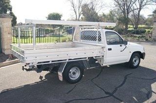 2005 Toyota Hilux RZN149R White 5 Speed Manual Cab Chassis