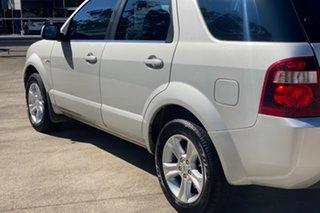 2009 Ford Territory SY MkII TX (4x4) Silver 6 Speed Auto Seq Sportshift Wagon