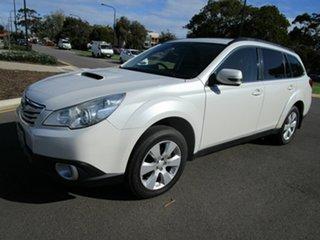 2010 Subaru Outback MY11 2.0D Premium AWD Pearl White 6 Speed Manual Wagon