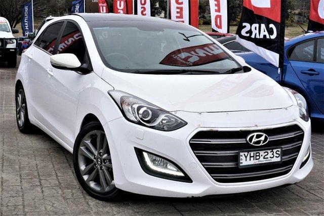 Used Hyundai i30 GD3 Series II MY16 Premium DCT Phillip, 2015 Hyundai i30 GD3 Series II MY16 Premium DCT White 7 Speed Sports Automatic Dual Clutch Hatchback