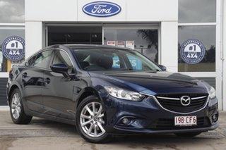 2014 Mazda 6 GJ1031 Sport SKYACTIV-Drive Blue 6 Speed Sports Automatic Sedan.