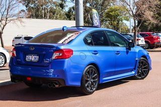 2018 Subaru WRX V1 MY18 Premium AWD Blue 6 Speed Manual Sedan.
