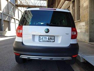 2011 Skoda Yeti 5L 77TSI DSG Clear White 7 Speed Sports Automatic Dual Clutch Wagon