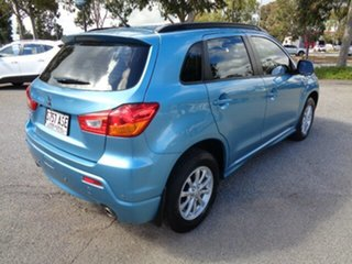 2012 Mitsubishi ASX XB MY13 2WD Kingfisher Blue 6 Speed Constant Variable Wagon