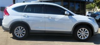 2013 Honda CR-V 30 VTi (4x4) White 5 Speed Automatic Wagon.