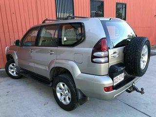 2005 Toyota Landcruiser Prado GRJ120R GXL Gold 5 Speed Automatic Wagon.