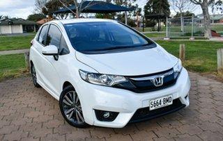 2016 Honda Jazz GF MY16 VTi-L White 1 Speed Constant Variable Hatchback.