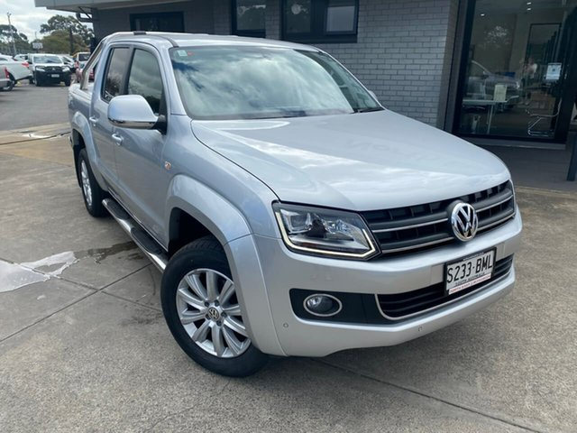 Used Volkswagen Amarok 2H MY16 TDI420 4Motion Perm Highline Hillcrest, 2016 Volkswagen Amarok 2H MY16 TDI420 4Motion Perm Highline Silver 8 Speed Automatic Utility