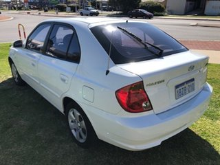 2005 Hyundai Accent LC MY04 GL White 4 Speed Automatic Hatchback
