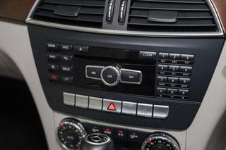 2011 Mercedes-Benz C-Class W204 MY11 C250 BlueEFFICIENCY 7G-Tronic + Elegance Iridium Silver 7 Speed