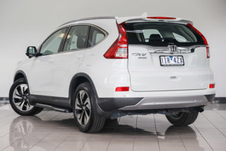 2016 Honda CR-V RM Series II MY17 Limited Edition White Orchid 5 Speed Automatic Wagon.