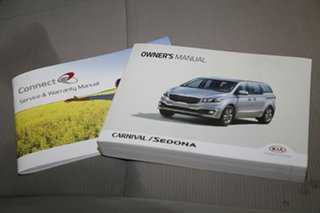 2015 Kia Carnival YP MY15 S Clear White 6 Speed Sports Automatic Wagon
