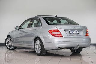 2011 Mercedes-Benz C-Class W204 MY11 C250 BlueEFFICIENCY 7G-Tronic + Elegance Iridium Silver 7 Speed.