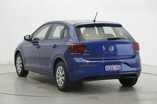 2019 Volkswagen Polo AW MY19 70TSI DSG Trendline Reef Blue Metallic 7 Speed.
