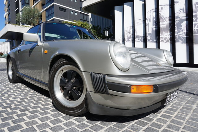 Used Porsche 911 SC East Brisbane, 1982 Porsche 911 No Series SC Silver 5 Speed Manual Targa