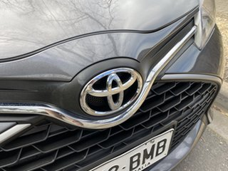 2016 Toyota Yaris NCP130R Ascent Graphite 4 Speed Automatic Hatchback