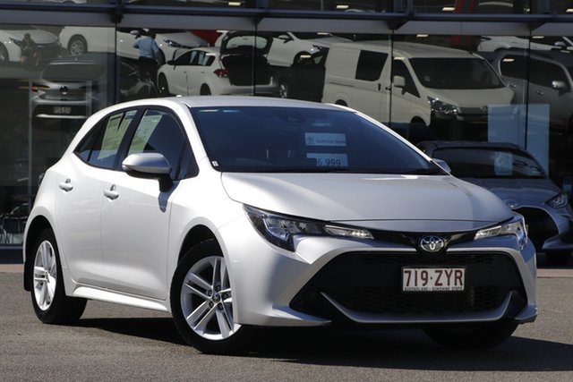 Pre-Owned Toyota Corolla Mzea12R Ascent Sport Upper Mount Gravatt, 2020 Toyota Corolla Mzea12R Ascent Sport Silver Pearl 10 Speed Constant Variable Hatchback
