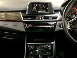 2015 BMW 2 Series F45 218d Active Tourer Steptronic Luxury Line Red 8 Speed Automatic Hatchback