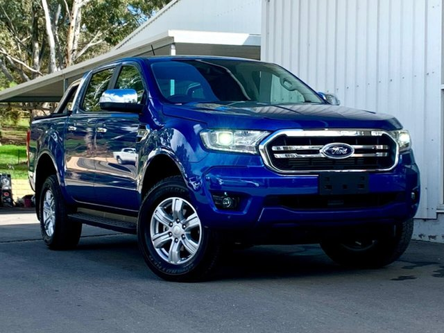 Used Ford Ranger PX MkIII 2020.25MY XLT Clare, 2020 Ford Ranger PX MkIII 2020.25MY XLT Blue 6 Speed Sports Automatic Double Cab Pick Up