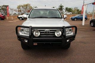 2014 Toyota Landcruiser VDJ200R MY13 VX Silver Pearl 6 Speed Automatic Wagon.