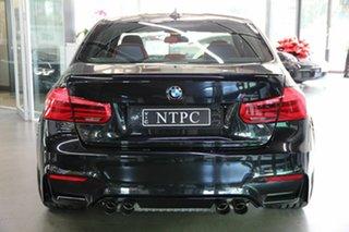 2017 BMW M3 F80 LCI Competition M-DCT Black 7 Speed Sports Automatic Dual Clutch Sedan